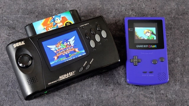 Game Boy Color and Sega Nomad Screen Mods – Modern Upgrades!