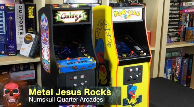 Galaga & Pac-Man Quarter Scale Arcades – First Impressions