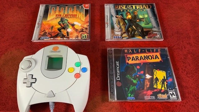 Fan made DOOM, Half-Life & Classic Shooters on Dreamcast