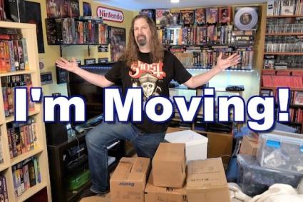 * SURPRISE * I'm MOVING! – GOODBYE to the old GAME ROOM!