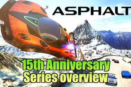 Asphalt 15th Anniversary – History of the Arcade Racing Franchise
