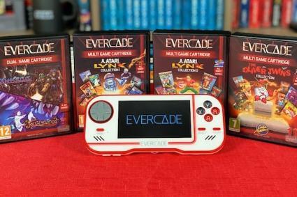 4 NEW EVERCADE cartridges – 38 Games: Indie, Atari Lynx & more!