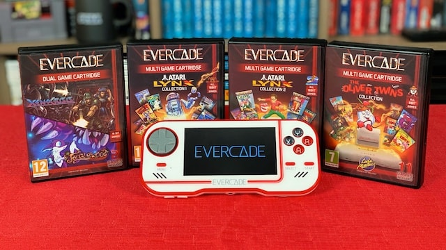 4 NEW EVERCADE cartridges – 38 Games: Indie, Atari Lynx & more!