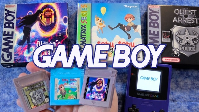 New GAME BOY GAMES Reviewed – 3 physical releases!