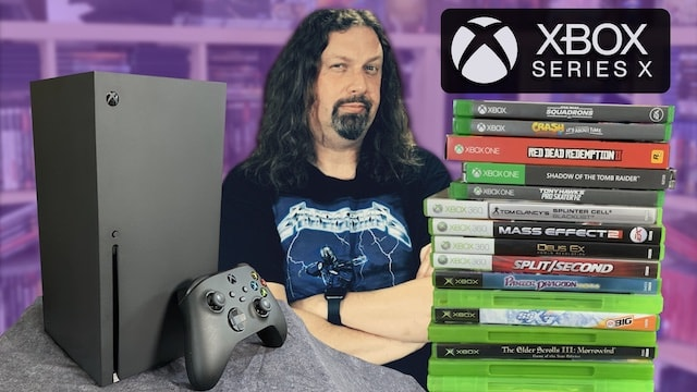 It's here! XBOX SERIES X REVIEW – Testing 4 generations of Xbox games!