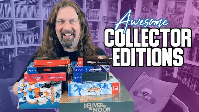 Collector Edition Games I picked up in 2020! (PS4 / Switch / NES)