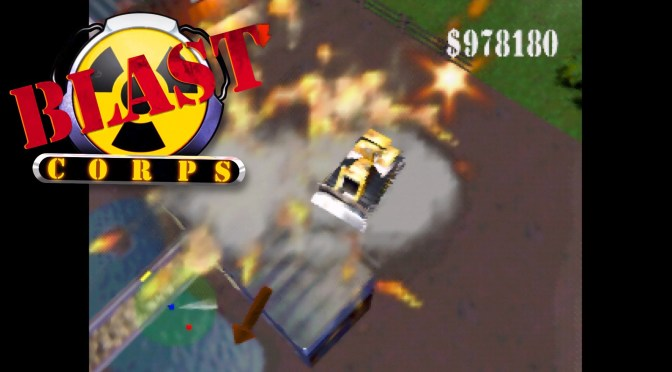 Blast Corps (N64) – One of my favorite Rare games!