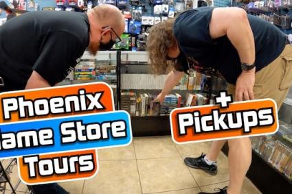 VIDEO GAME HUNTING in Phoenix! + PICKUPS! (PS1, PS2, 3DS, DS, Saturn)