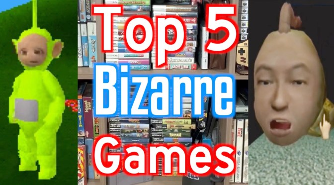 Top 5 Bizarre WTF Games in my collection  #shorts