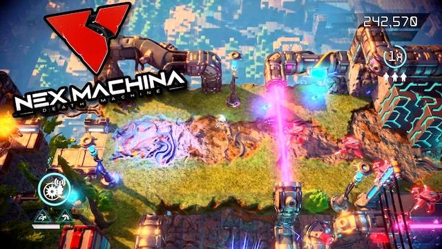 Nex Machina (PS4 Pro / 4K) Review & Gameplay