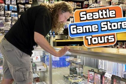VIDEO GAME HUNTING in SEATTLE: Stores I recommend when visiting