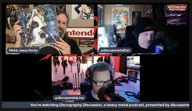 Def Leppard Discography Discussion with Metal Jesus of Metal Jesus Rocks!