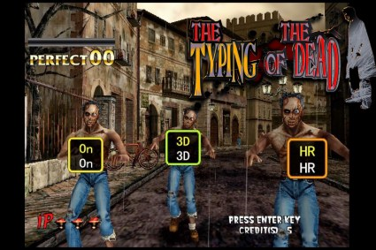Typing of the Dead (Dreamcast) Review & Gameplay