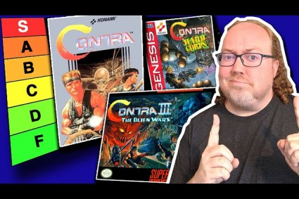 I Ranked Every Contra Game (NES – GBA)