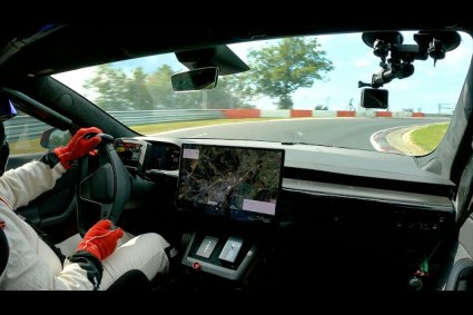 Tesla Model S Plaid at Nürburgring
