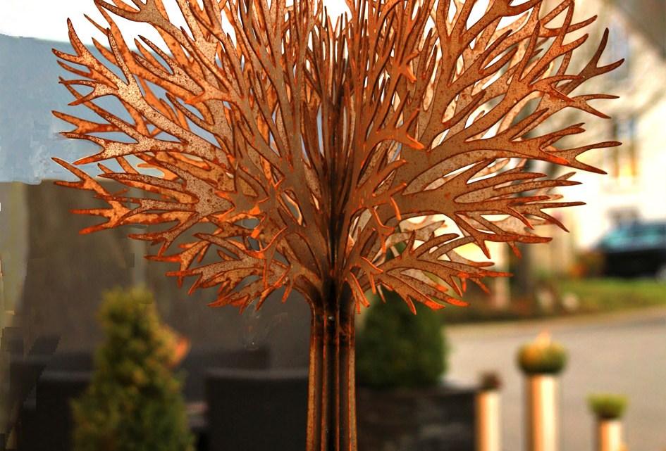 Garten-Dekoration aus Stahl / Edelstahl