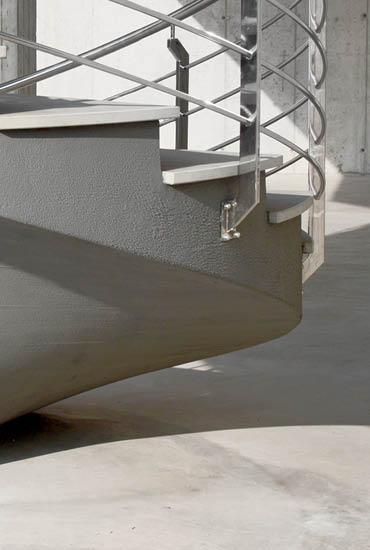 Custom Made Concrete Staircases