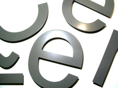 aluminium-letters