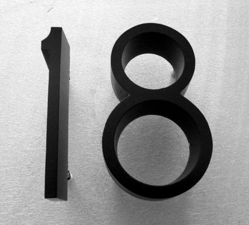 Cast Metal House Numbers In A Ribbon Deep Font Metal Letters - Cheap metal house numbers