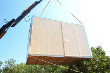 Αποθήκη από panel