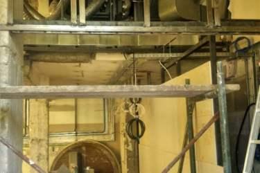 Μεταλλικός σκελετός για εγκατάσταση Viroc®