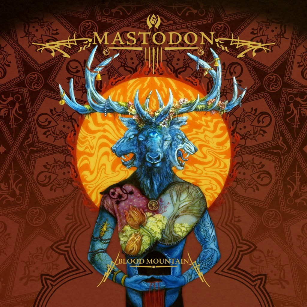 Image result for mastodon blood mountain cover