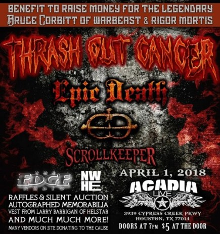 Thrash Out Cancer 1