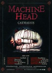 Machine Head Announce UK tour