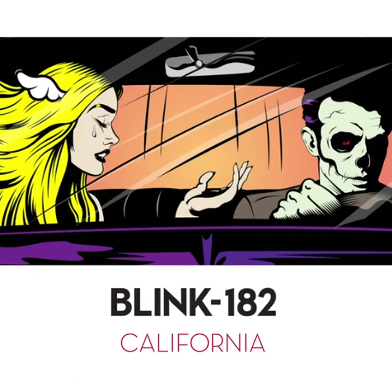 You are currently viewing BLINK 182 <br/> California