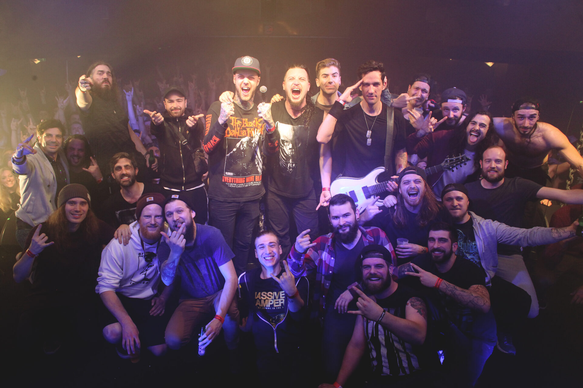 You are currently viewing Dagoba/Betraying The Martyrs/Smash Hit Combo <br/> Metal Obs' Tour : à sueur et à sang !