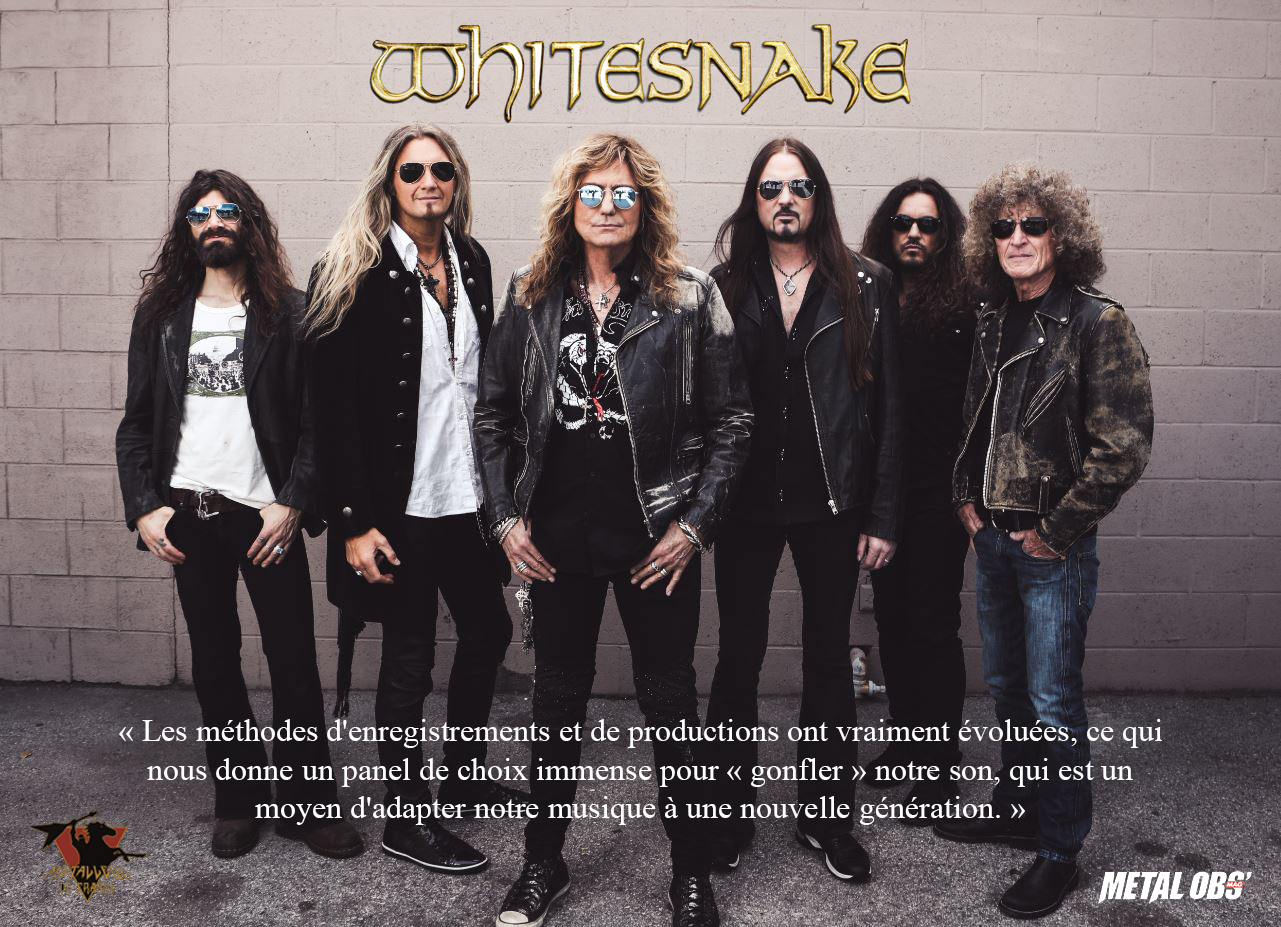 You are currently viewing WHITESNAKE : Hoekstraordinaire ! Interview à propos du nouvel opus Flesh & Blood