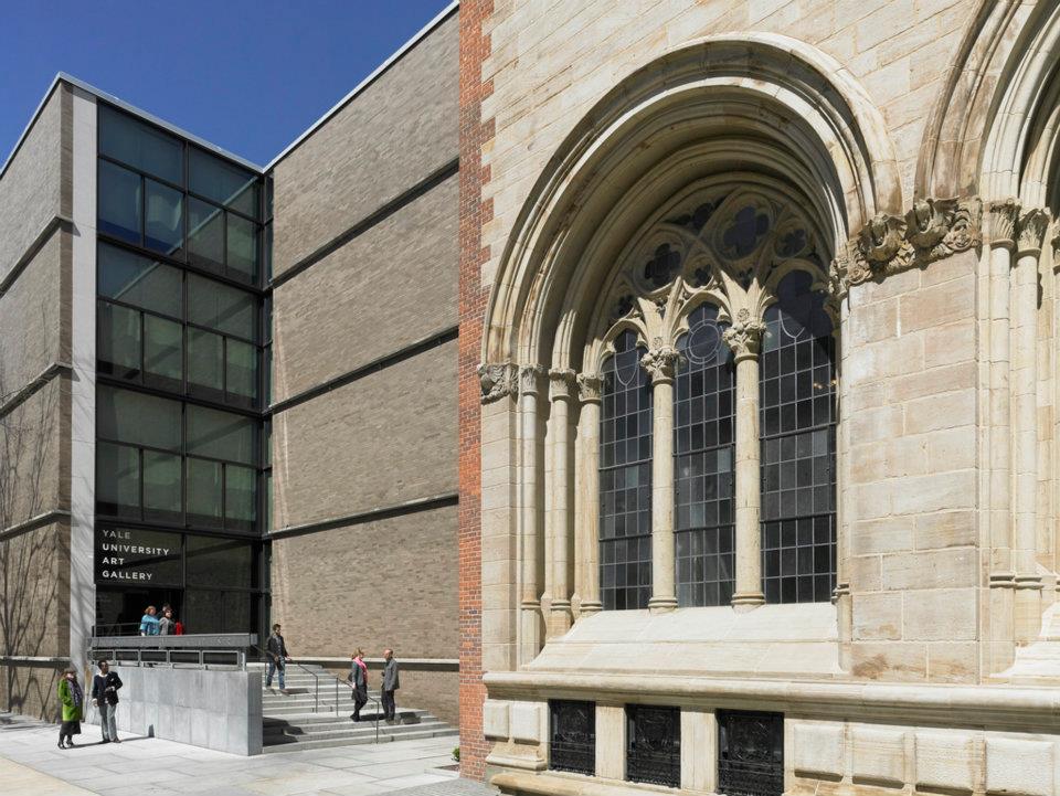 Yale University Art Gallery Plan