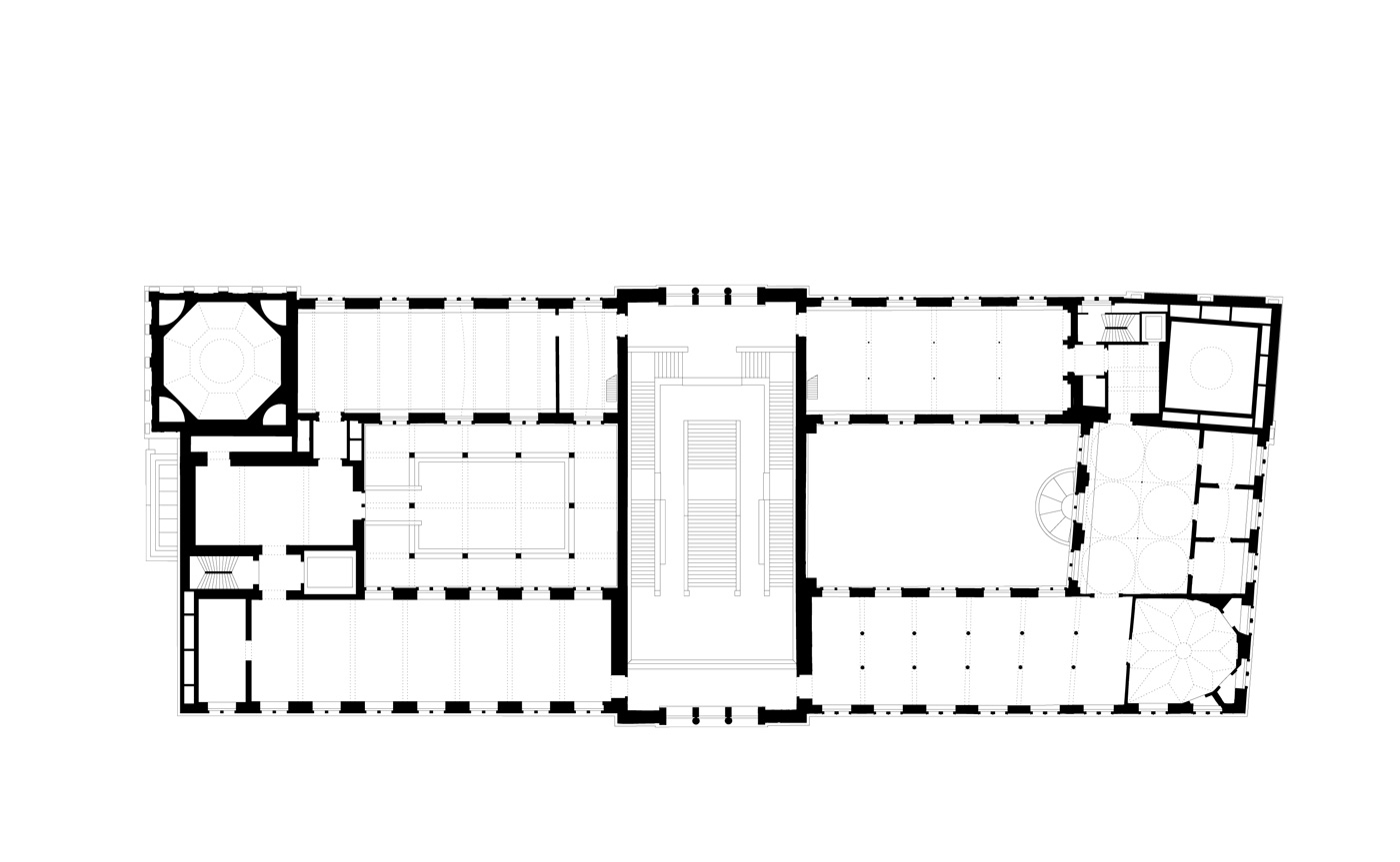 Neues Museum Drawings By David Chipperfield On Display In
