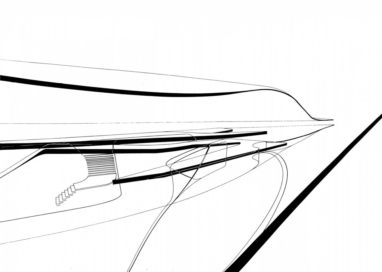 Salerno Maritime Terminal By Zaha Hadid First Posthumous
