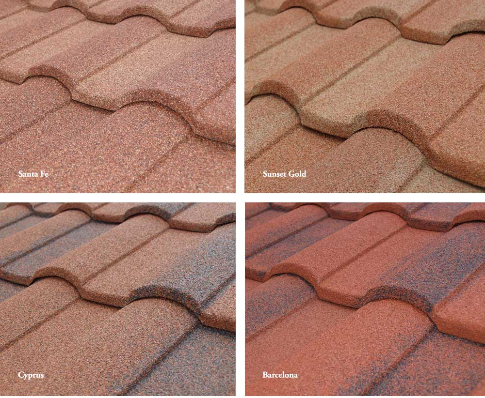 Roofing sand metal roofing contractors sand springs for Roof color