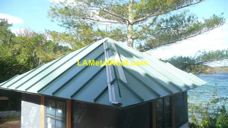 standing seam installation hip cap metal roof details insulation color chart guide