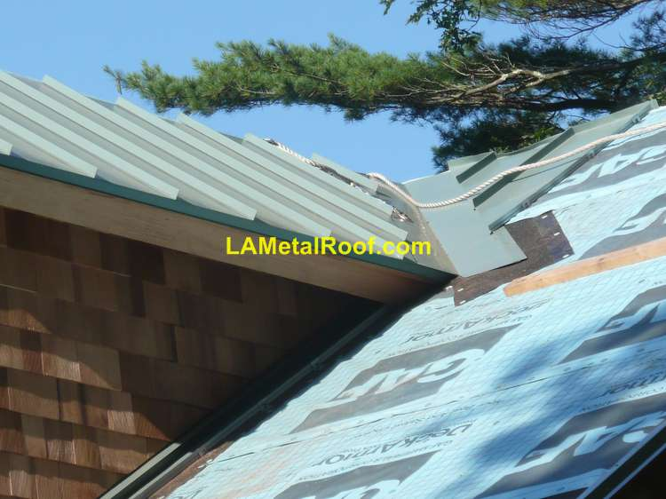 Metal Roofing Systems Installation : How to install a standing seam metal roof diy guide