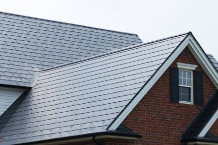 Here is a closer look at this style of metal shingles.