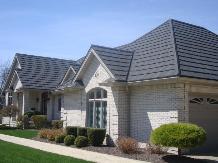 Steel shake roofing in Kingsville Ontario