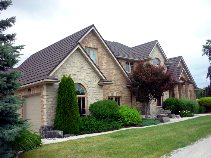 Metal shake roofing installed by Metal Roof Outlet in Limehouse Ontario