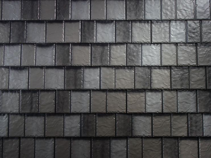 arrowline-charcoal-gray-blend slate look metal roof from Metal Roof Outlet