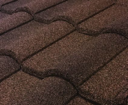 Barrel Vault Stone Coated Metal Tile Roof - Barclay