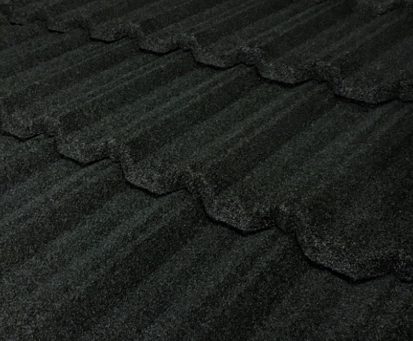 Pacific Tile Stone Coated Metal Tile Roof - Charcoal