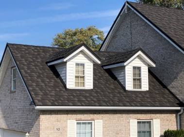 Chatham home with metal roofing in Charcoal from Metal Roof Outlet
