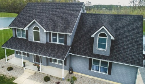 Chatham home with metal roofing from Boral Steel installed by Metal Roof Outlet
