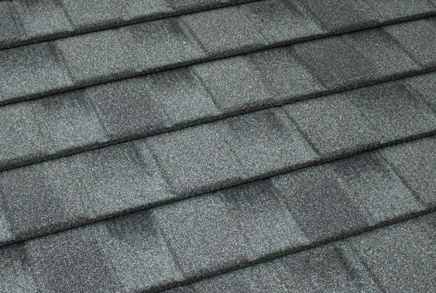 TilCor Concealed Fastening shingle in the colour Estate Grey