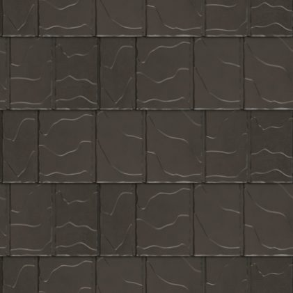 VicWest True North North Ridge Slate product image in the colour Burnished Slate Signature Matte (Variation)