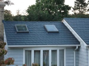 Residential metal roof