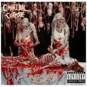 Album cover of 'Butchered at Birth' (1991)