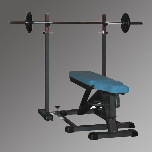 HF402 SUPPORT SQUAT MOBILE POUR DEVELOPPE COUCHE INCLINE